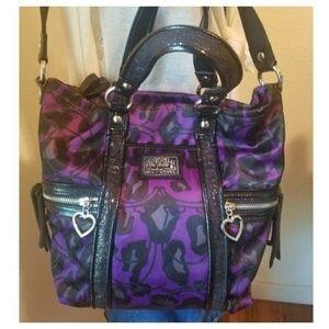NWT COACH Purple Poppy Bag